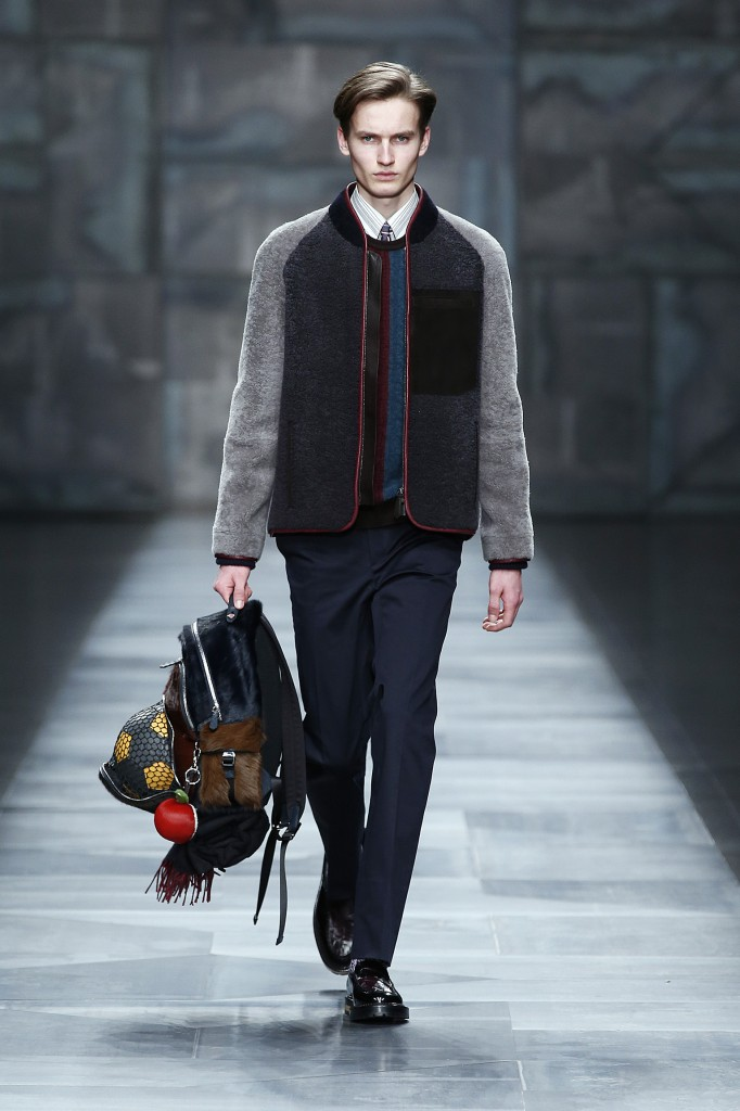 FENDI Fall Winter 2015-16 Men's Collection Look 28