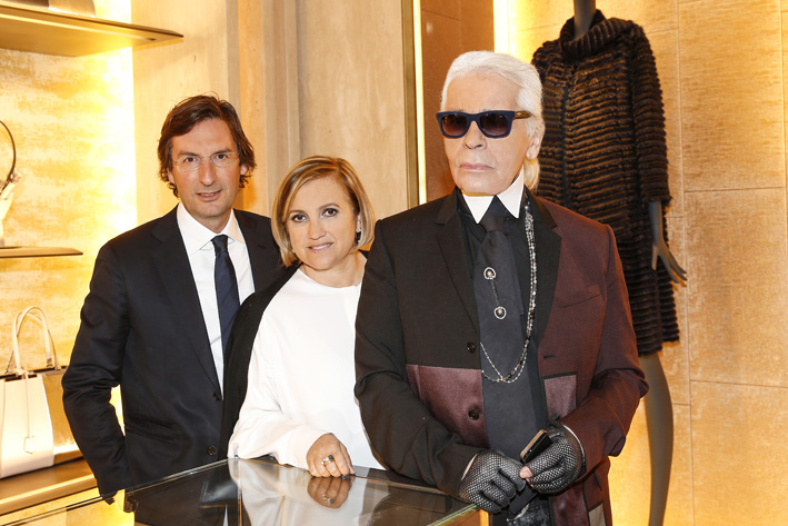 Karl Lagerfeld 'The Glory Of Water' Exhibition Opening