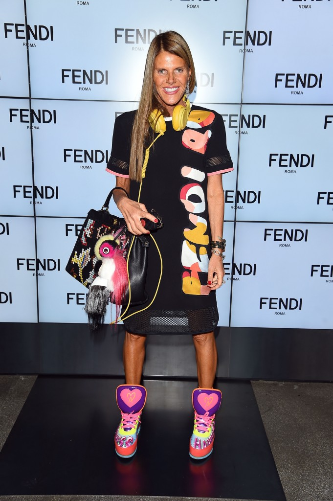 Fendi - Arrivals - Milan Fashion Week Womenswear Spring/Summer 2015