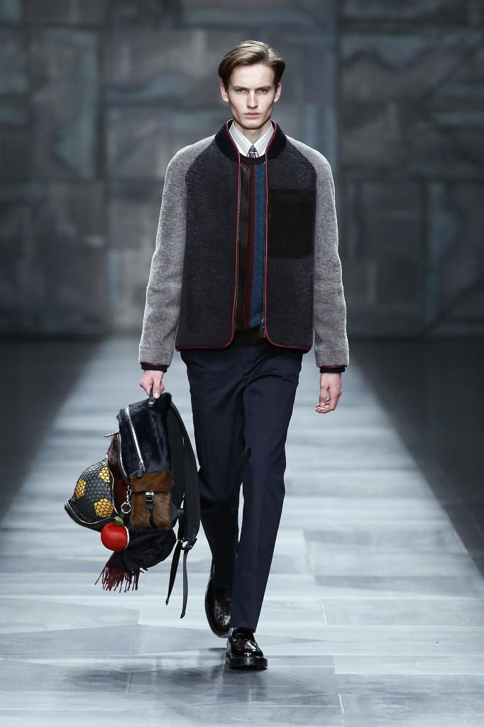 FENDI Fall Winter 2015-16 Men's Collection Look 28